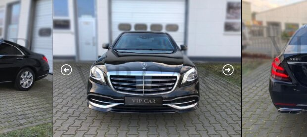 Mercedes-Benz S 600 GUARD - фото vip-car.com.ua