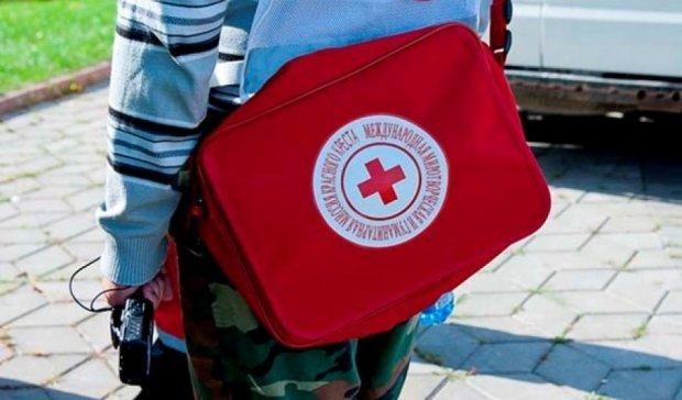"""14 грузовиков """"Красного креста"""" с гумпомощью прибыли на Донбасс"""