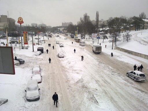 Весна не поспішає до Вінниці, снігова стихія увірветься до міста 12 лютого