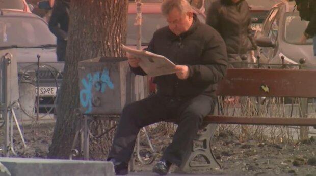 Пенсіонер, фото: скріншот з відео