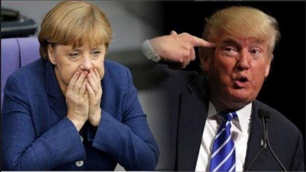 Трамп обратися к Меркель за советами по конфликту на Донбассе