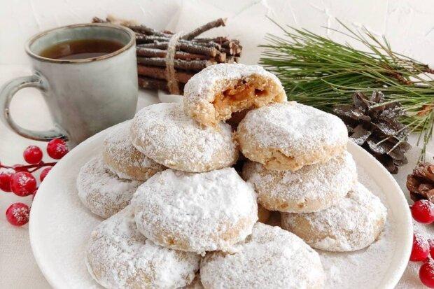 """Печиво """"Сніжок"""", фото: Солодкий стіл / Телеграм"""