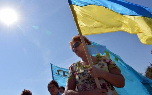 Крымские патриоты Украины передали привет оккупантам: фото