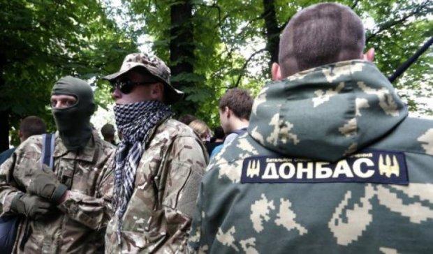 """Бойцы """"Донбасса"""" уничтожили технику террористов в Широкино"""