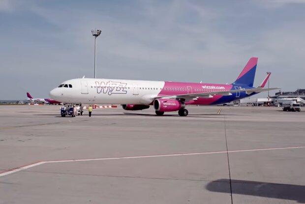 Лоукостер Wizz Air, скриншот: YouTube