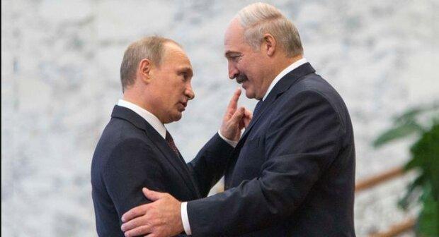 Путін та Лукашенко, фото Reuters