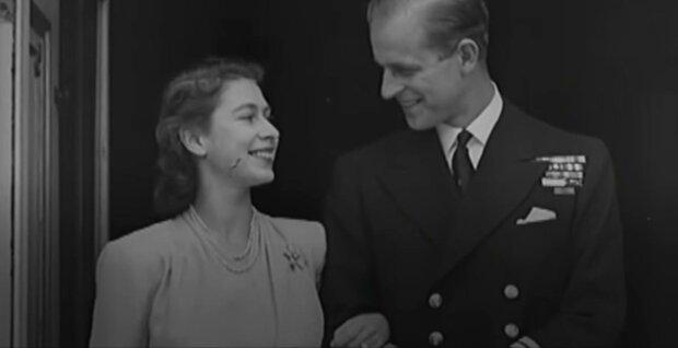 Принц Філіп і королева, фото: скріншот з відео