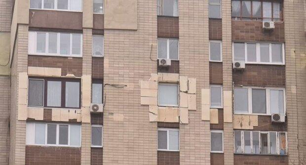 Будинок в Києві, фото: Facebook dtp.kiev.ua