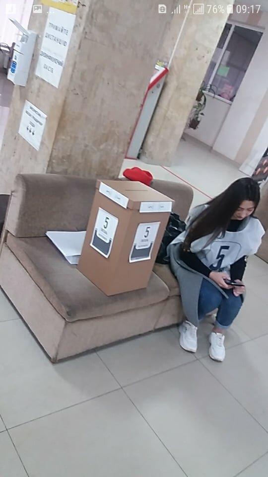 В Ужгороді порушують масковий режим, фото: Ужгородський прес-клуб
