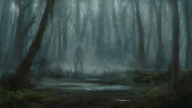 На перепутье двух миров: странные существа заманивали женщину в чащу леса