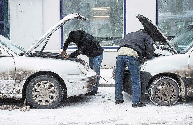 владельцы авто зимой