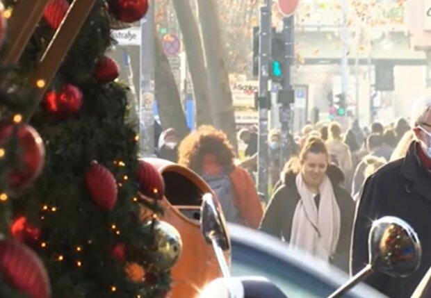 Новорічні свята, кадр з відео