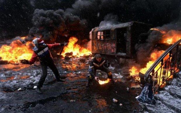 Палили шини: історія про те, як іноземця Майдан надихнув