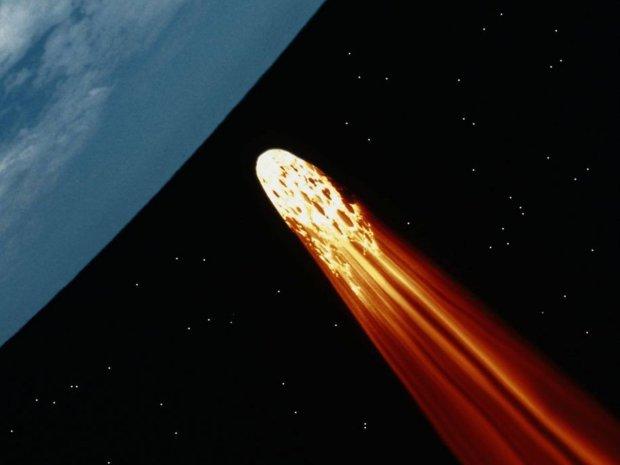 Метеорит упал в самом живописном месте Украины