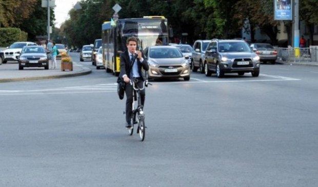 Дарница и Оболонь - самые опасные районы для велосипедистов