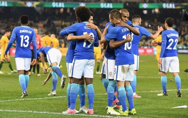 Австралія - Бразилія 0:4 Відео голів та огляд матчу