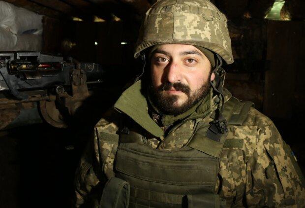 Военнослужащий Арсен, фото: facebook.com/pressjfo.news