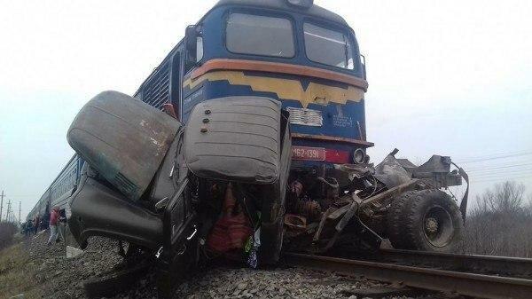Смертельна аварія на Закарпатті, фото: прес-служба Укрзалізниці