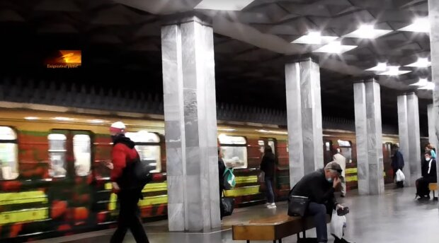 Метро Харкова, кадр з відео, зображення ілюстративне: YouTube