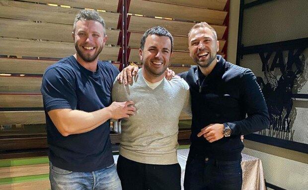Решетник, Михайлюк, Заливако, фото с Instagram