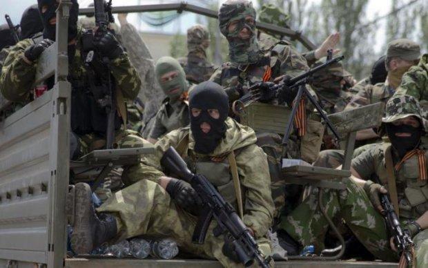 Глашатаї Захарченка познущалися над прапором України та над здоровим глуздом: фотофакт
