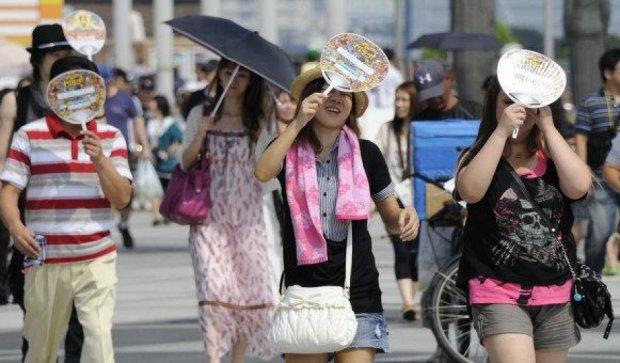 Спека в Японії за тиждень забрала життя 32 людей