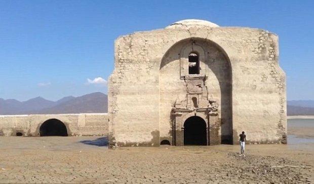 Пересохшая река явила миру древний мексиканский храм