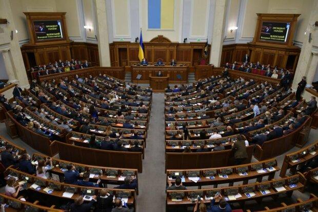 Владимир Зеленский в Раде, фото: facebook.com/president.gov.ua