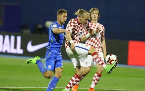 Защитник сборной Хорватии: Во втором тайме Украина контролировала матч