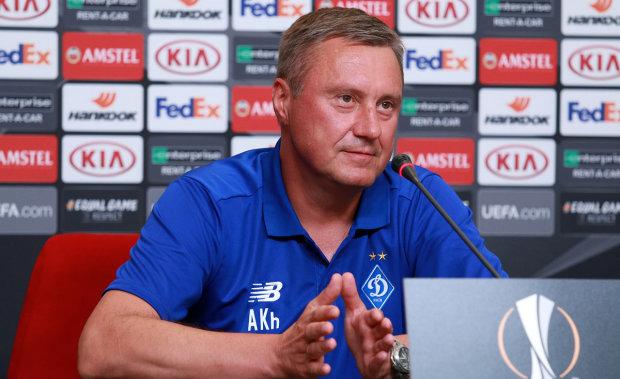 Хацкевич высказался о матче против Олимпиакоса: задача победить