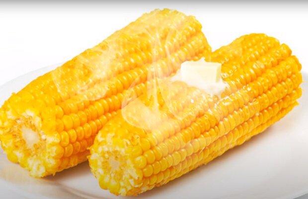 Скрин, видео YouTube кукуруза