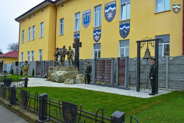 Коломые почтили память Юрия Гаврилюка, фото: Facebook 10 горно-штурмовая бригада
