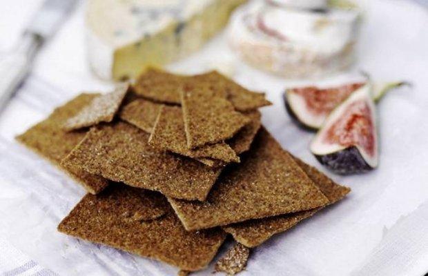 Низкокалорийный рецепт легких ржаных хлебцев