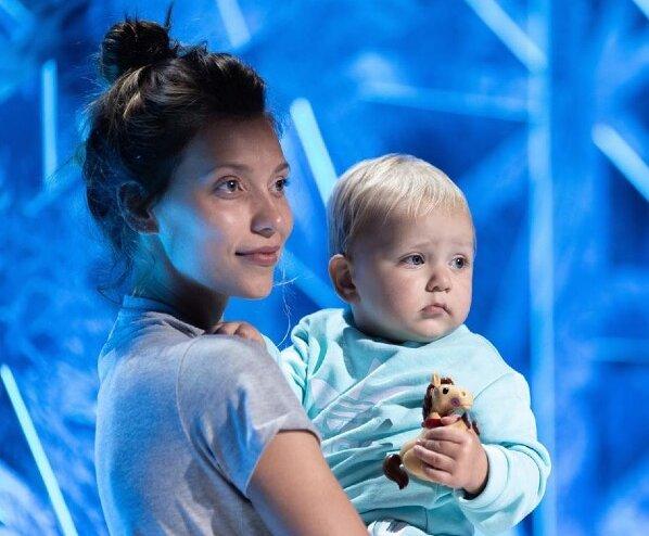 Регіна Тодоренко з сином, фото: Instagram