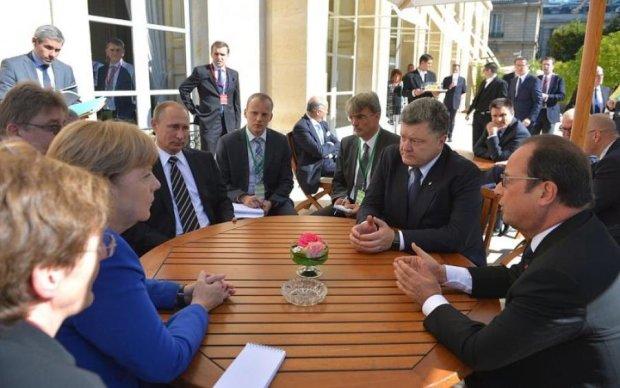 """Из """"Нормандской четверки"""" Путин оказался самым тупым"""