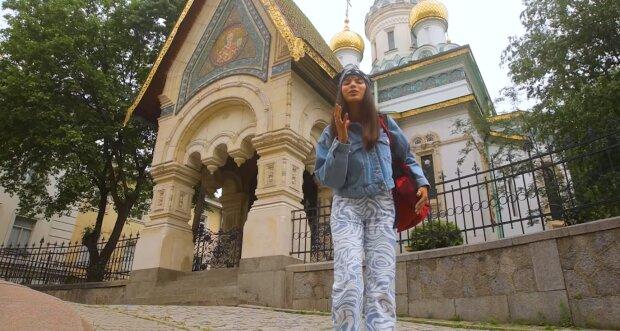 Michelle Andrad, скриншот с видео