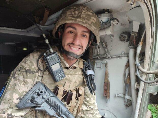 Український офіцер, фото: Facebook-сторінка ООС