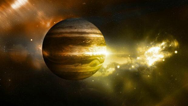 Юпітер ледве пережив потужний удар планети-ембріона: відео зіткнення гігантів