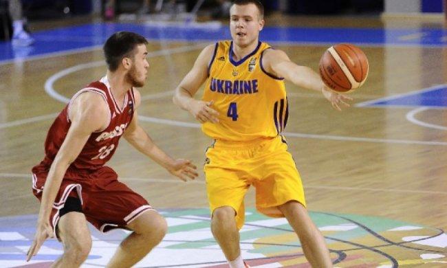 Українські баскетболісти обіграли Росію на чемпіонаті Європи U-20