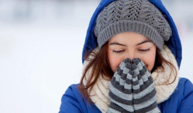 Украинцев ожидает морозная и снежная погода
