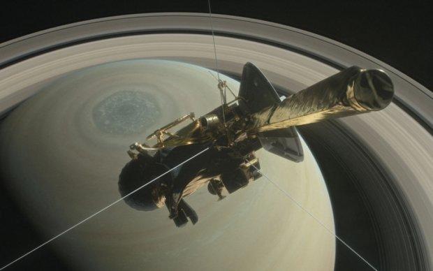 Cassini отправился в последний путь (видео)