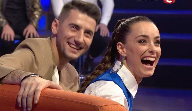 Ксенія Мішина і Олександр Еллерт, скріншот з відео