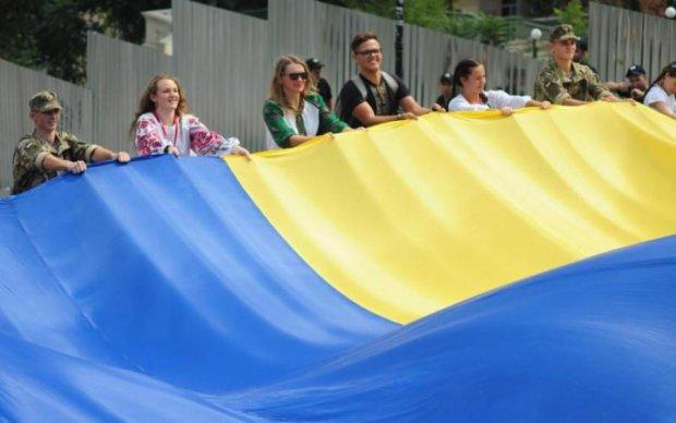 День прапора: у Києві встановили новий національний рекорд