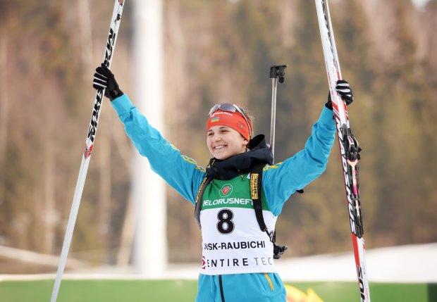 Українська біатлоністка Журавок виграла першу гонку в кар'єрі