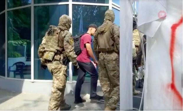В Главном управлении ГФС Днепропетровщины ГБР и СБУ провели обыск