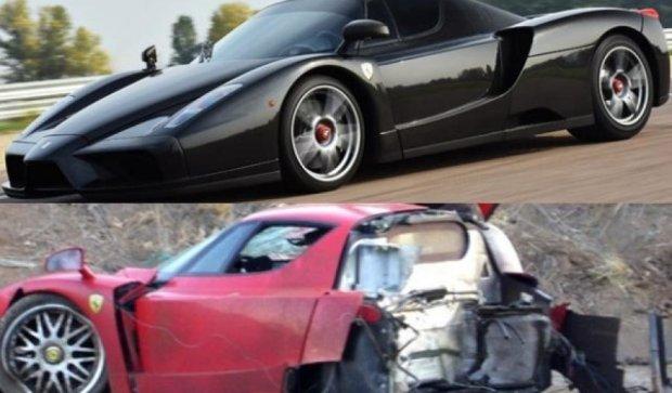Разорванная надвое Ferrari Enzo за $2 млн (фото)