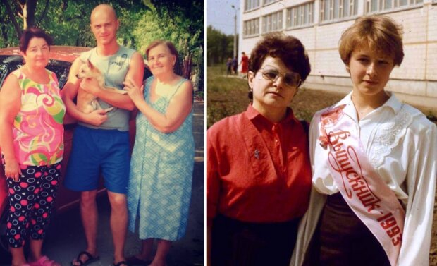 Влад Яма та Олена Кравець з мамами, фото - Instagram