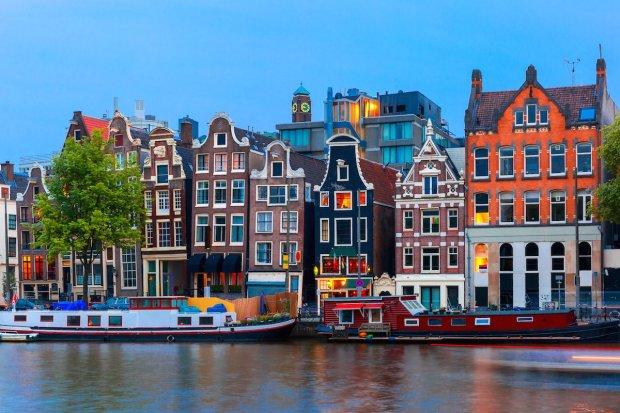 Приваблива пропозиція: Київ-Амстердам-Київ за 51 євро