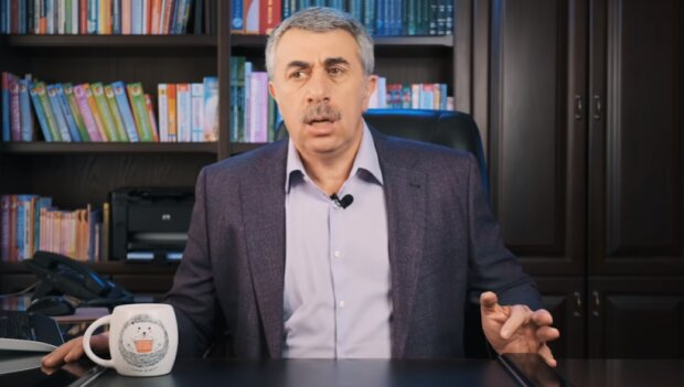 Доктор Евгений Комаровский (скриншот You Tube)
