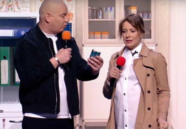 Елена Кравец и Евгений Кошевой, кадр из видео